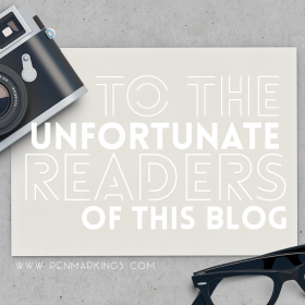 To the Unfortunate Readers of this Blog