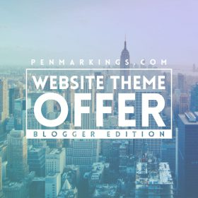 Blogger Site Offer