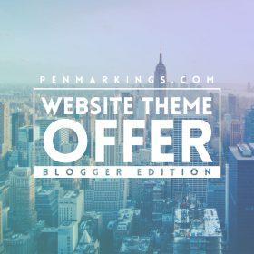 Blogger Site Offer